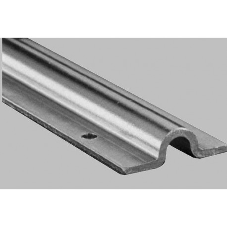 Rail au sol acier galvanisé