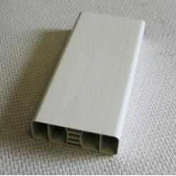 Lisse PVC 80 x 28 mm 1 mètre linéaire