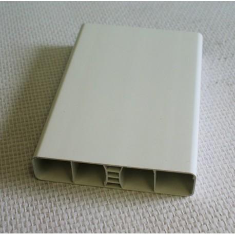 Lisse PVC 120 x 28 mm, 1 mètre linéaire