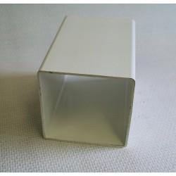 Lisse PVC 120 x 120 mm, 1 mètre linéaire