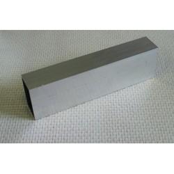 Lisse aluminium 50 x 30 mm 1 mètre linéaire
