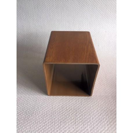 Lisse PVC chêne doré 120 x 120 mm